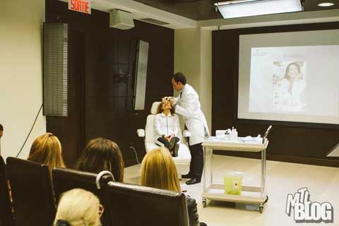 Dr. Omar Fouda Neel giving a Mommy Makeover Seminar - Slide 10