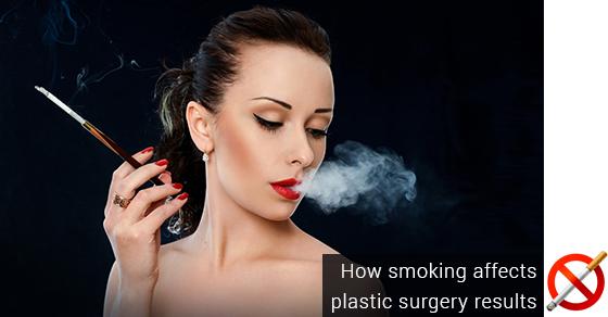 Smoking Affects Plastic Surgery
