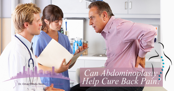 Can Abdominoplasty Help Cure Back Pain?