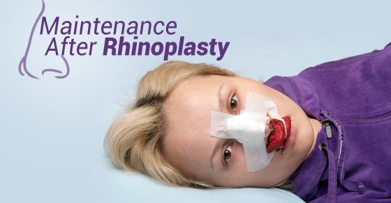 Maintenance After Rhinoplasty