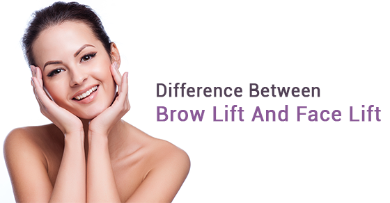 Brow Lift VS Face Lift