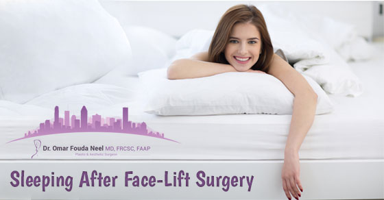 Sleeping After Face-Lift Surgery